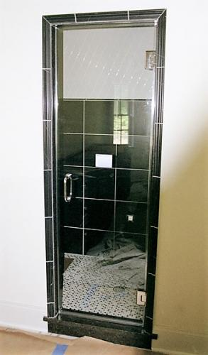 frameless steam door