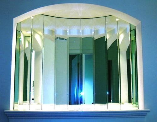 mirrored niche